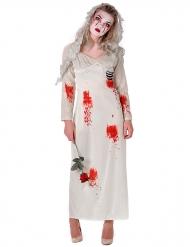 Costume da sposa zombie donna