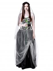Costume sposa gotica Halloween