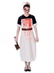 Costume da infermiera insanguinata per donna Halloween