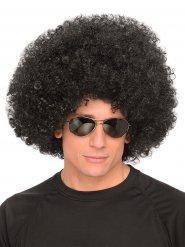 Parrucca afro nera anni
