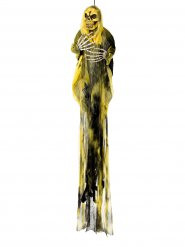Smorfia fantasma colore giallo  per Halloween