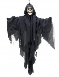 Decorazione per Halloween scheletro volante 90 cm