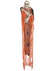 Paurososcheletro arancione per Halloween