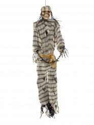 Scheletro carcerato da appendere per Halloween