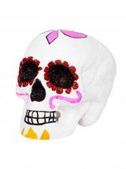 Teschio colorato per festa Dia de los muertos Halloween
