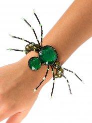 Magnifico bracciale  ragno di colore verde