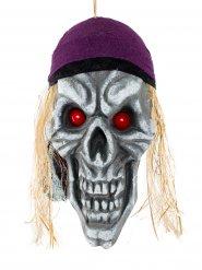 Decorazione teschio pirata terrore dei mari per Halloween