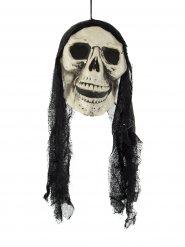 Teschio pirata fantasma per Halloween