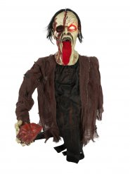 Decorazione animata zombie con cuore in mano