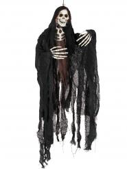Decorazione di halloween scheletro appeso 90 cm