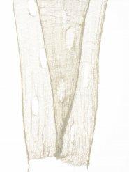 Decorazione di halloween telo bucato beige 75 x 300 cm