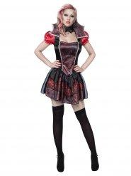 Costume da sexy vampiro per donna halloween