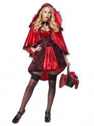 Costume Cappuccetto Rosso sexy per donna