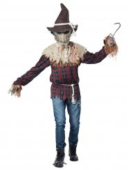 Costume da spaventapasseri sanguinario per uomo
