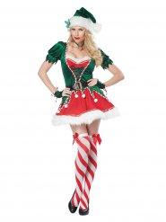 Costume elfo di natale sexy per donna