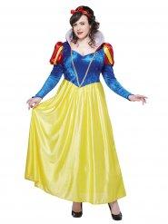 Costume Biancaneve grande taglia donna