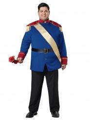 Costume principe affascinante grande taglia uomo