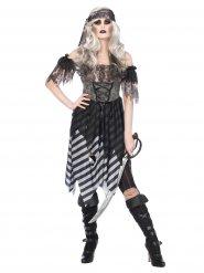 Costume pirata gotico per donna