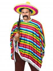 Costume da messicano multicolore per uomo