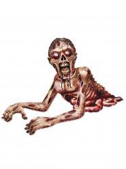 Decorazione zombie spaventoso halloween