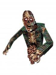 Decorazione in cartone Zombie spaventoso Halloween