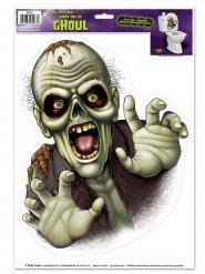 Decorazione Halloween adesiva: scheletro mostruoso
