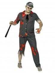 Costume da poliziotto zombie per adulto halloween