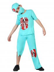 Travestimento da dottore zombie Halloween per bambino