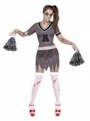 Costume da ragazza pompom zombie per Halloween donna