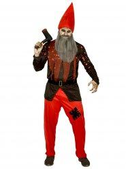 Costume nano da giardino terrificante uomo