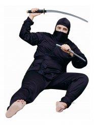 Costume da ninja per uomo taglia grande