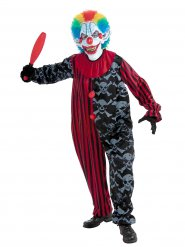Costume da clown spaventoso per adulto