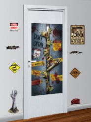 9 Decorazioni da muro anti zombie halloween