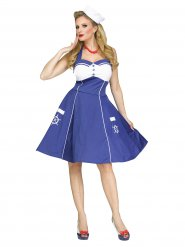 Costume marinaio anni 50 per donna