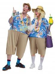 Costume da turisti alle Hawaii adulto