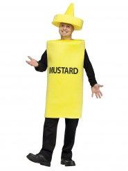 Costume da tubetto di senape per adulto