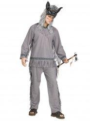 Costume da indiano cacciatore di lupi per uomo