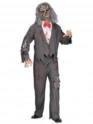 Costume da cameriere zombie da uomo per halloween