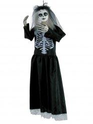 Decorazione halloween bambola scheletro 91 cm