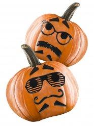 kit 12 decorazioni per zucca di halloween