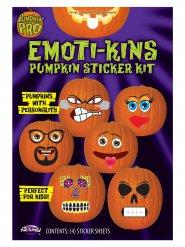 Emoticons adesive per zucca