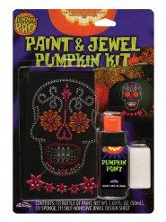 Kit per personalizzare zucca di halloween