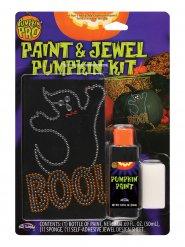 Kit decorazione per zucca pittura e strass