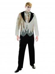 Costume sposo zombie per uomo