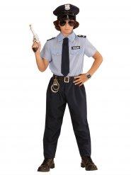 Costume agente di polizia per bambino