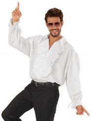 Camicia da pitara con jabot per uomo