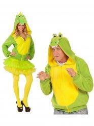 Costume umoristico da coccodrillo per adulto