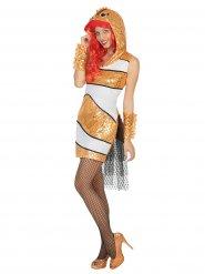 Costume pesce pagliaccio per donna