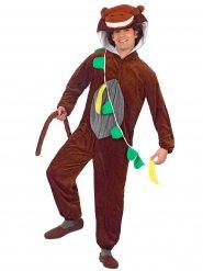 Costume marrone da scimmia divertente