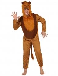 Costume tuta da leone per adulto